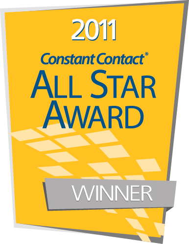 Constant Contact All Star Award Winner