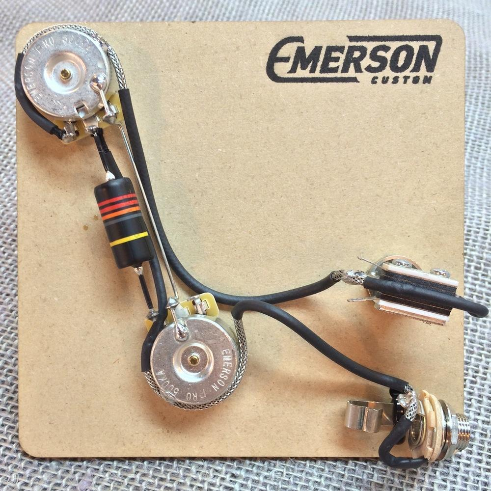 emerson custom 2 knob prewired kit for prs guitars axe and you rh axeandyoushallreceive com Microphone Jack Wiring Diagram Mono Jack Wiring Diagram