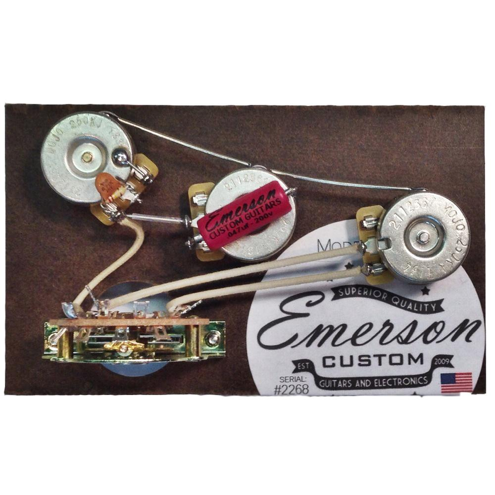 Emerson Custom BLENDER 5-WAY STRAT Prewired KIT (S5B) | Axe... And ...